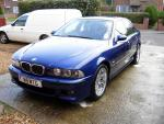E39 lemans blue